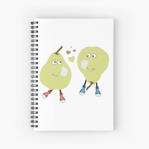Pear Love Spiral Notebook