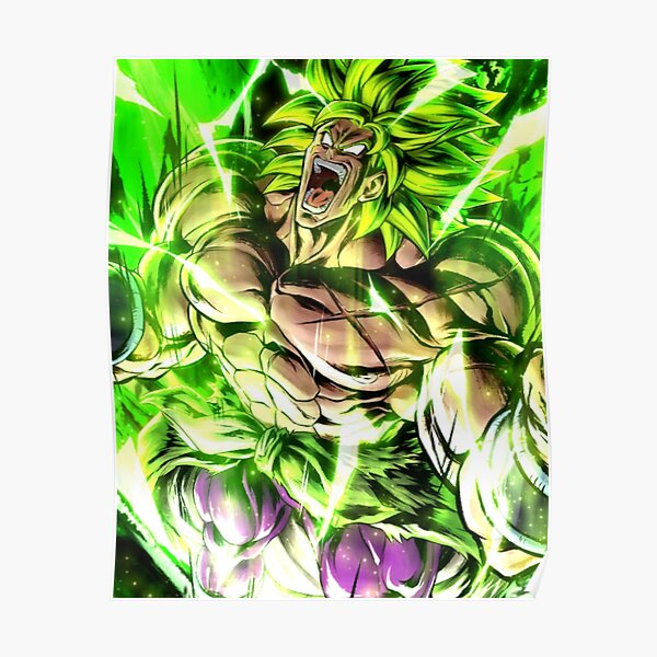 Broly Dragon Ball Super Poster