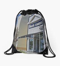 See's Candies ~ Yummy Chocolates ~ San Diego by Marie Sharp Drawstring Bag