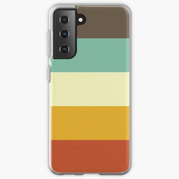 Stripes Graphic Three Samsung Galaxy Soft Case