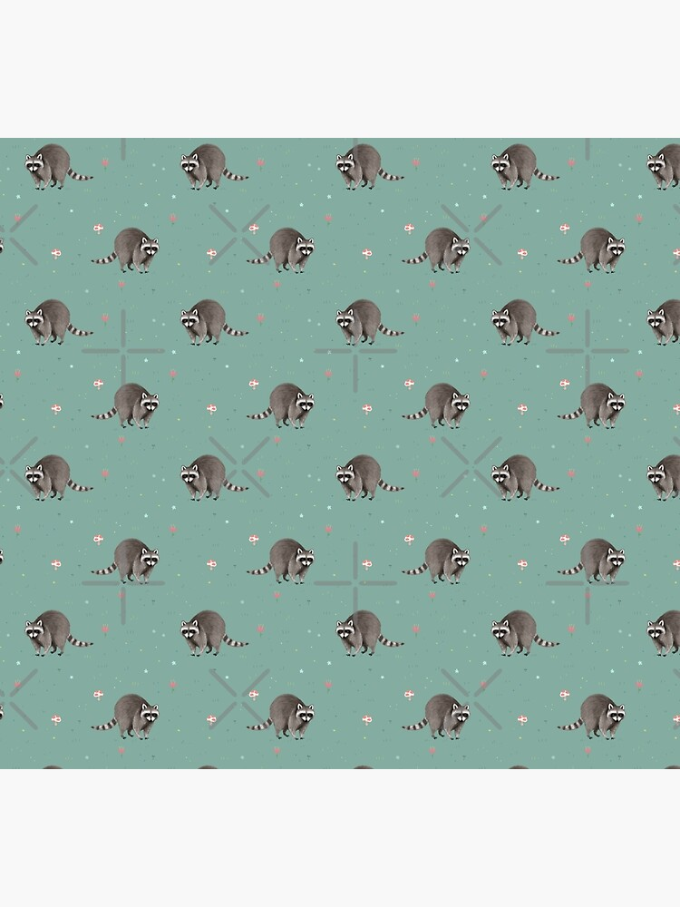 Little Raccoon Pattern by SophieCorrigan