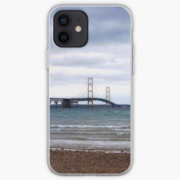 The Mackinac Bridge iPhone Soft Case