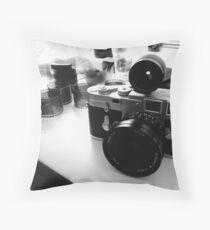 Leica M3 SS - Elmarit-M 21mm Throw Pillow