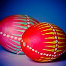 Easter Eggs decorated in a traditional technique by marina63