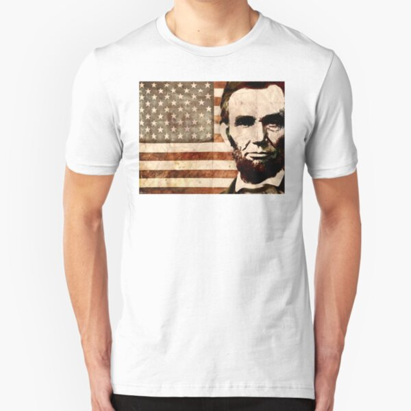 Abraham Lincoln Slim Fit T-Shirt