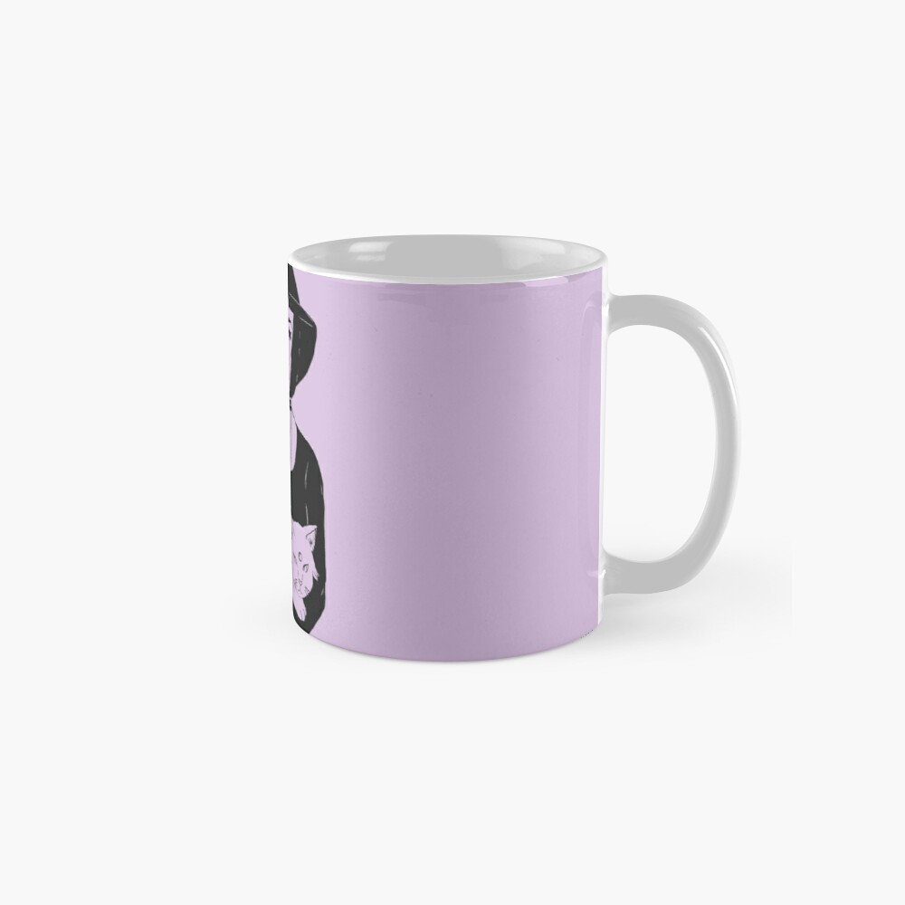 Witch and Espeon Mugs