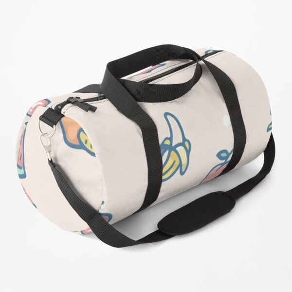 Refreshing tropical fruit apple banana and orange Duffle Bag