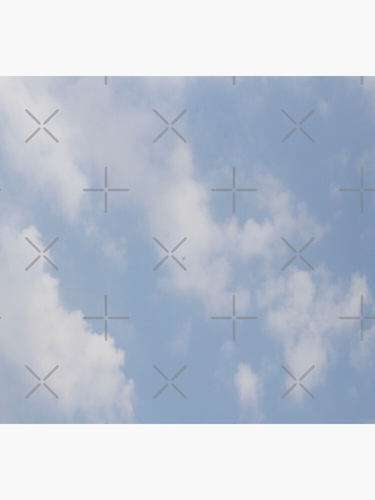 Blue and White Cloudy Sky by chanzds