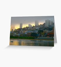 San Francisco Dawn Greeting Card