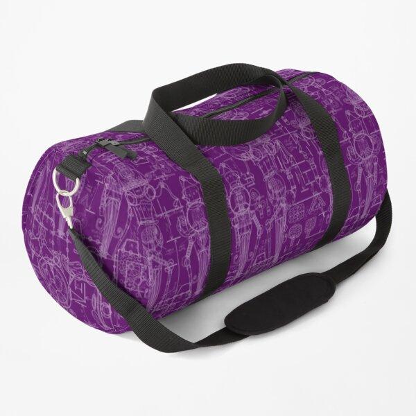 Mechtorian Plans ( Purple Version ) Duffle Bag