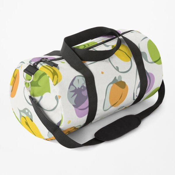 Hand drawn fruits seamless pattern Duffle Bag