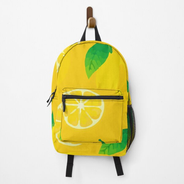 Healthy natural food green smoothie glass Backpack