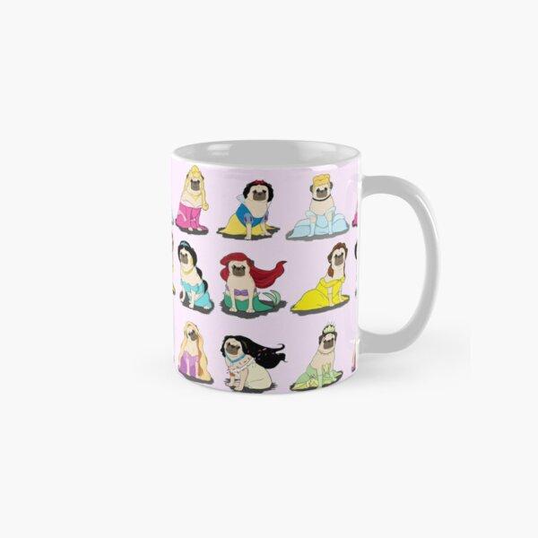 Pug Princesses Version 2 Classic Mug