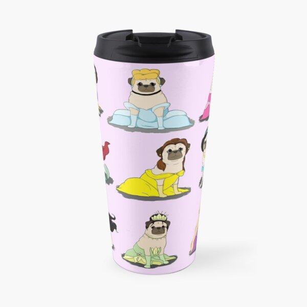 Pug Princesses Version 2 Travel Mug