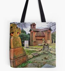 The Watts Mortuary Chapel - Compton Surrey - HDR Tote Bag
