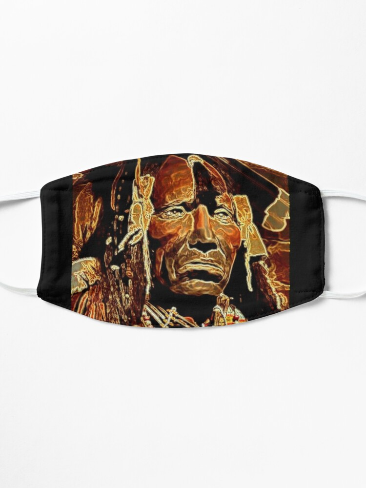 Alternate view of NATIVE AMERICAN INDIAN Mask