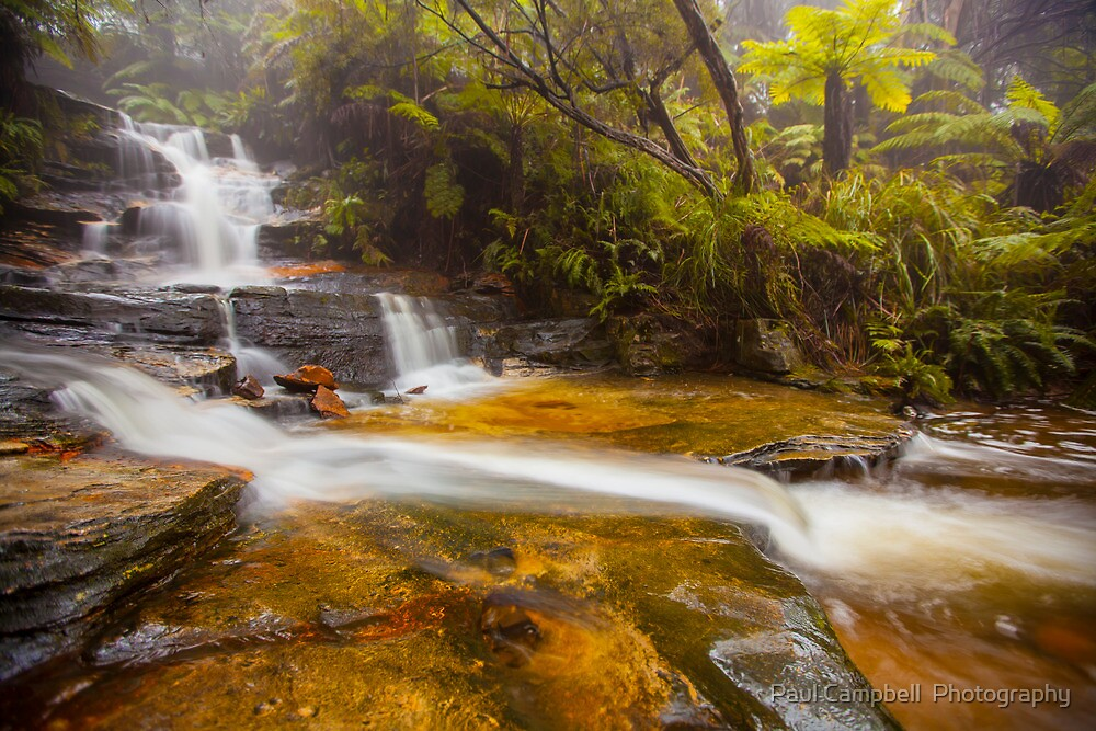 Cascades by Paul Campbell  Photography