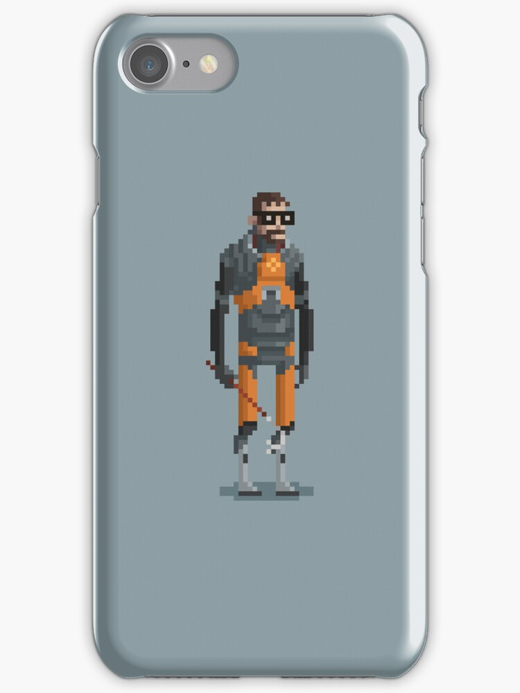 The Man With a Crowbar - iPhone Case by drawsgood
