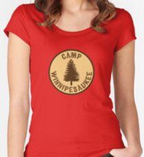 Camp Winnipesaukee Shirt Women's Fitted Scoop T-Shirt