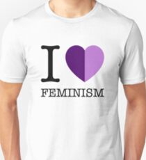 I LOVE FEMINISM Unisex T-Shirt