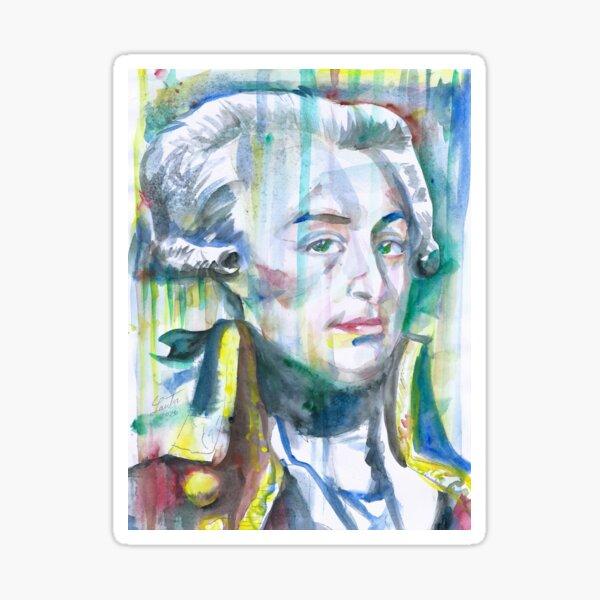 LAFAYETTE watercolor portrait.1 Sticker