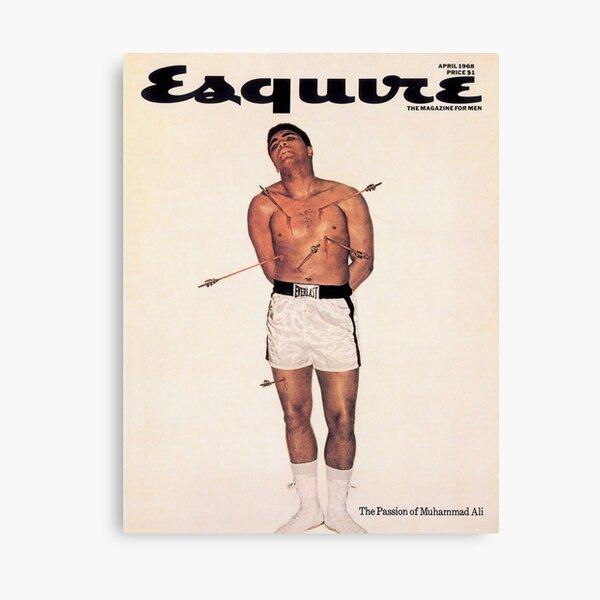 Esquire - Muhammad Ali 1968 Canvas Print