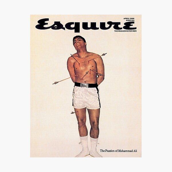 Esquire - Muhammad Ali 1968 Photographic Print