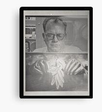 Nuclear Age Manipulations Canvas Print