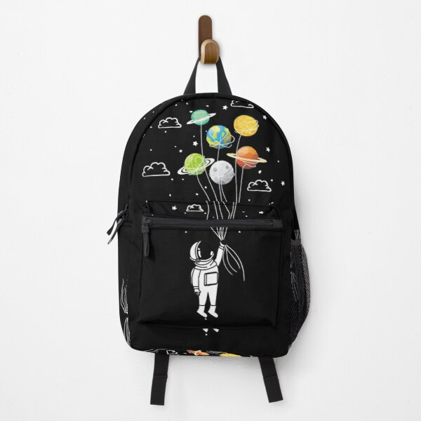 Funny Space travelling by planets Backpack