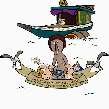 Beedle's Shop Ship by nooriginalnames
