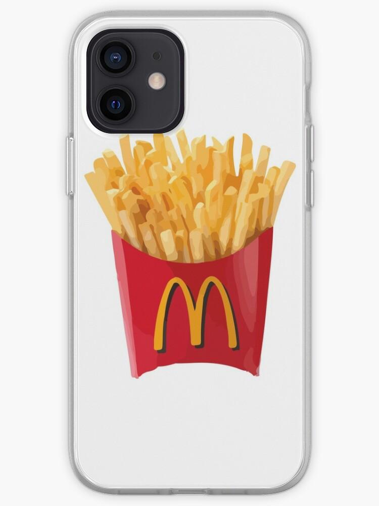 Dessin de frites McDonalds | Coque iPhone