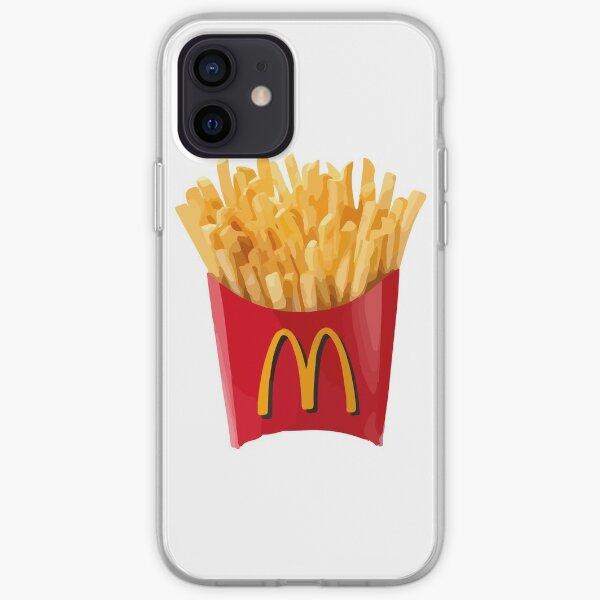 Coque iPhone « Dessin de frites McDonalds » par rachelfein