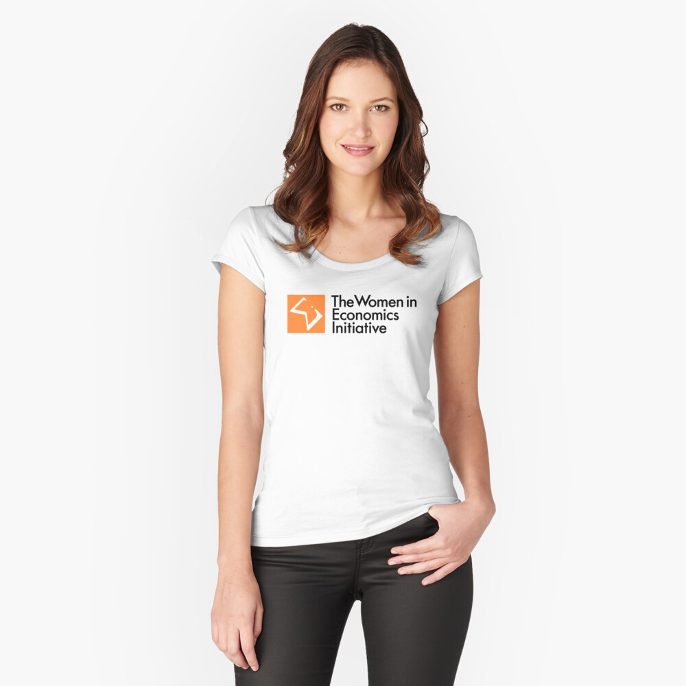 WiE Logo Fitted Scoop T-Shirt