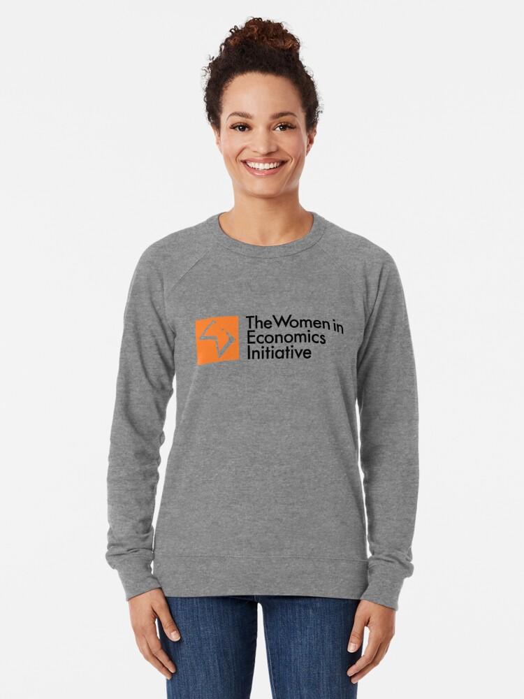 Alternate view of WiE Logo Lightweight Sweatshirt