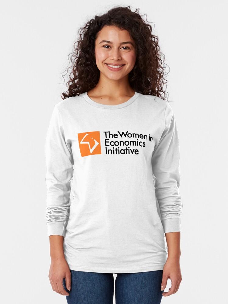 Alternate view of WiE Logo Long Sleeve T-Shirt