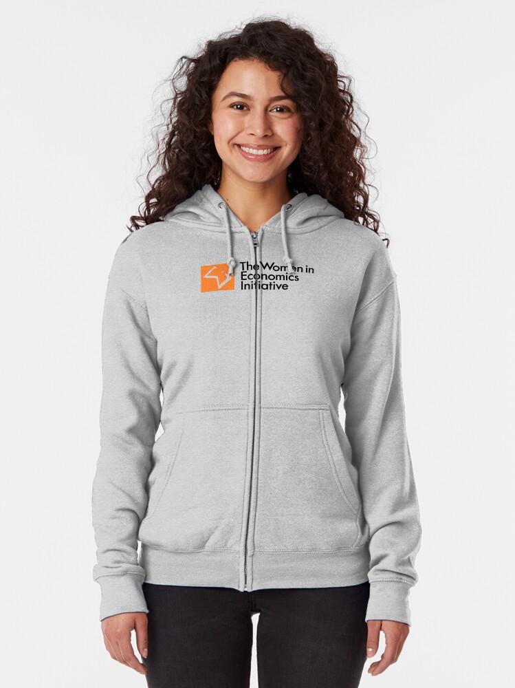 Alternate view of WiE Logo Zipped Hoodie