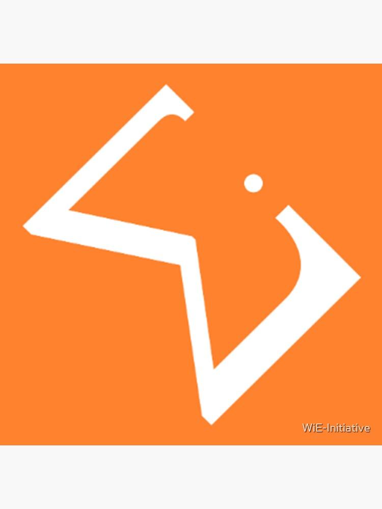 WiE Sticker- by WiE-Initiative