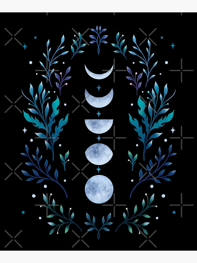 Moonlit Garden by episodicDrawing