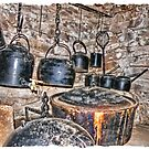 Soups on and Kettles on the boil by Elaine Game