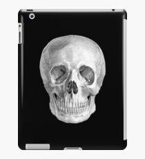 Albinus Skull 01 - Back To The Basic - Black Background iPad Case/Skin