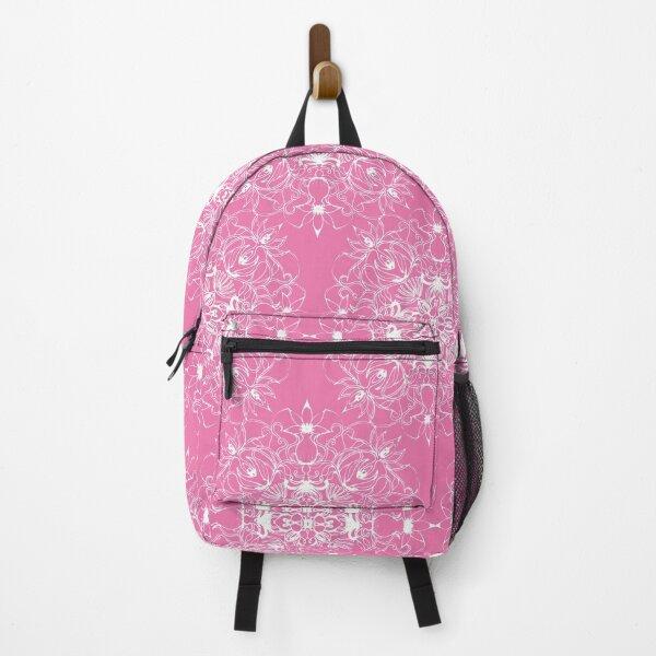 Pink Mandala pattern Backpack