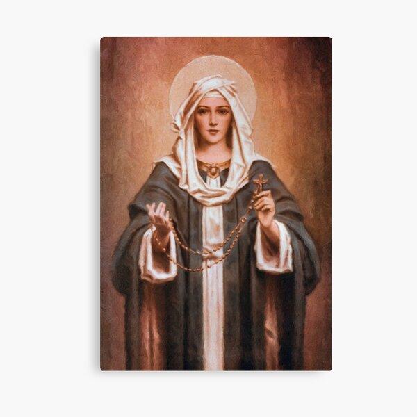 Nuestra Señora del Rosario Lienzo