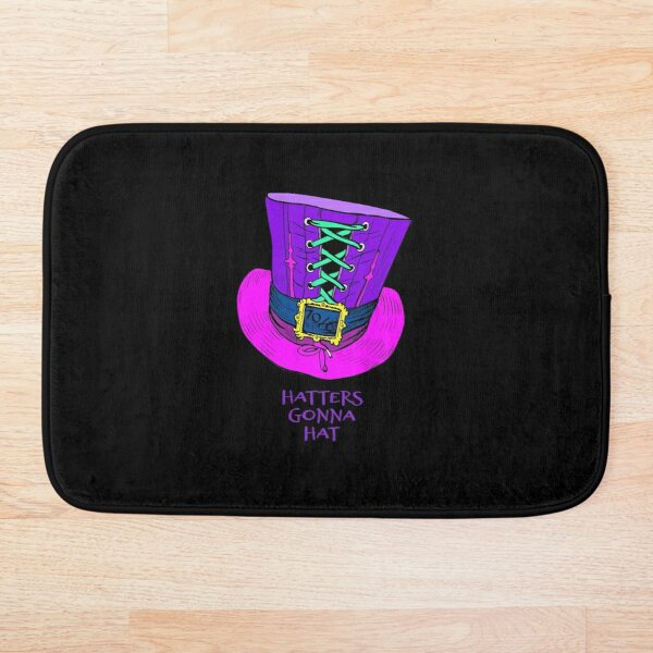 Hatters Gonna Hat Bath Mat