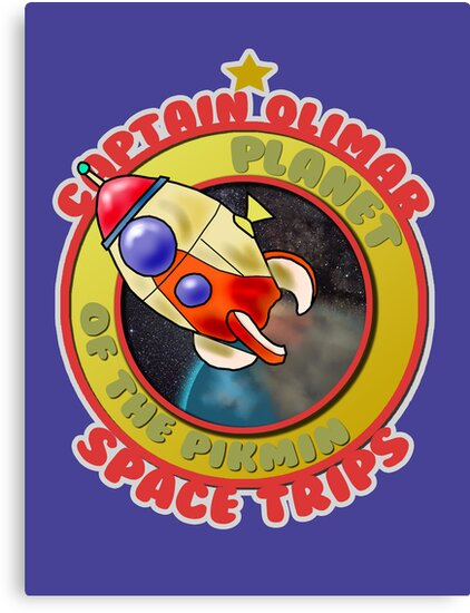 Pikmin Space Trips by ArrowValley