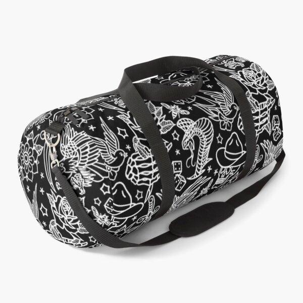 American Traditional Tattoo Flash Print  Duffle Bag