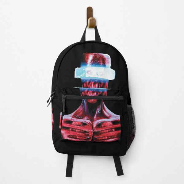 Red Alien Sci-Fi, Fantasy Character  Backpack