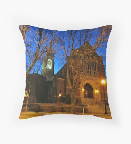 First Lutheran II Throw Pillow
