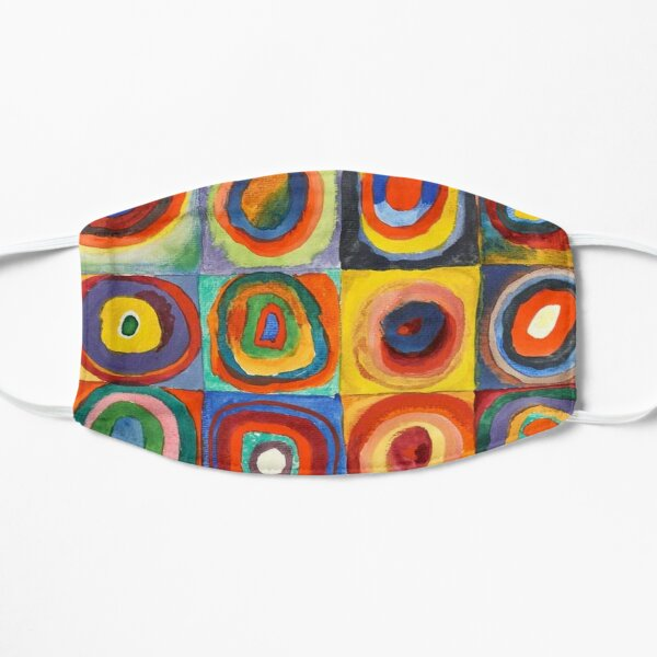 Kandinsky - Squares with Concentric Circles Mask