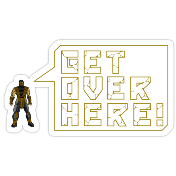 GET OVER HERE!! by TheGreatPapers