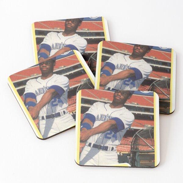 Ken Griffey Jr. Seattle Mariners Card Art Coasters (Set of 4)
